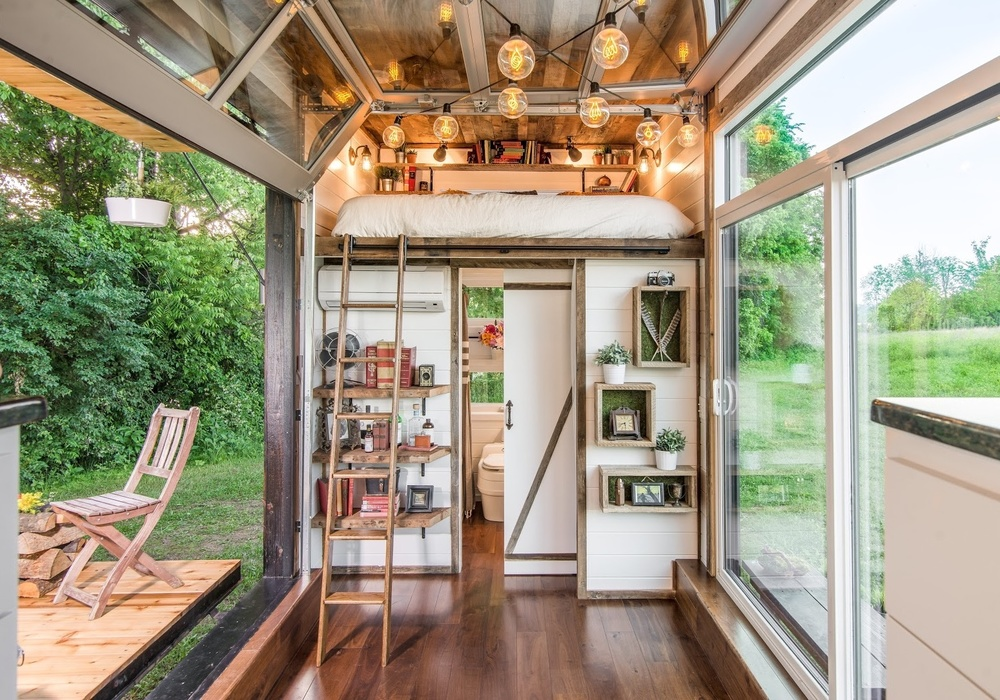 Alpha Tiny House by Frontier Tiny Homes | Photo by Garett Buell