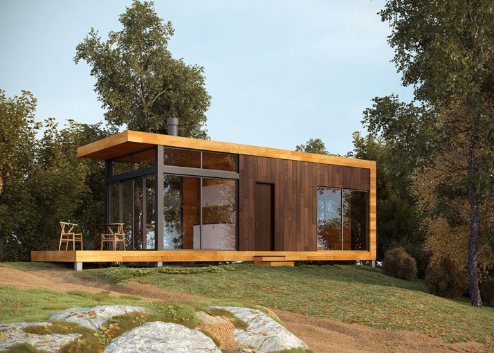 360 Off the Grid Cabin by Greenfab | Healthy, Eco-Friendly & Well-Designed  Homes with Swen Grau | Keeper & Co.