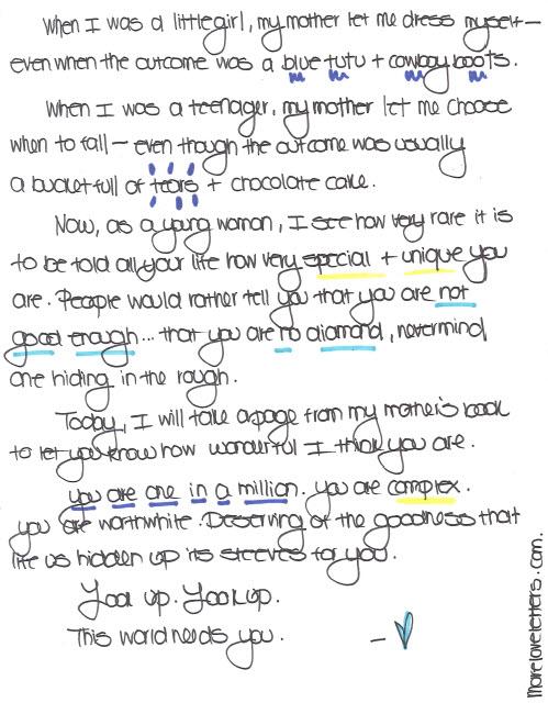 love letter left behind january 2012