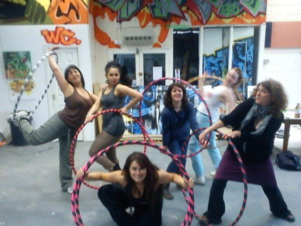 ADULTS Hoop Dance Parties
