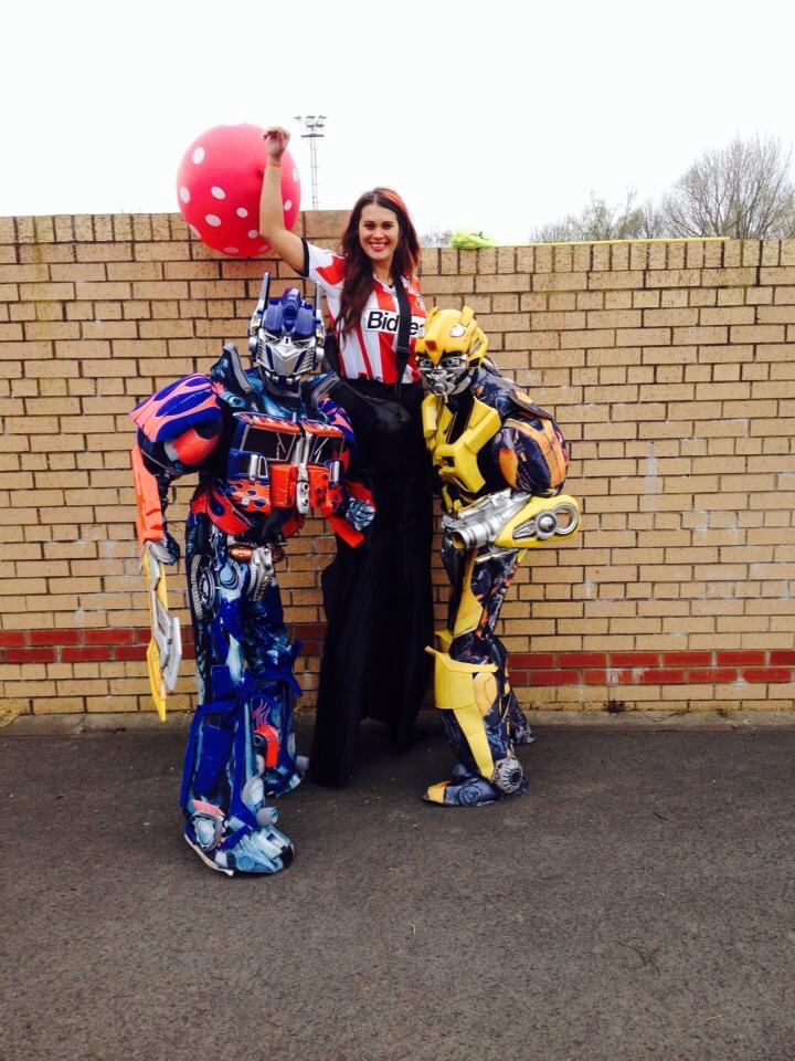 Stilt Walker Sunderland