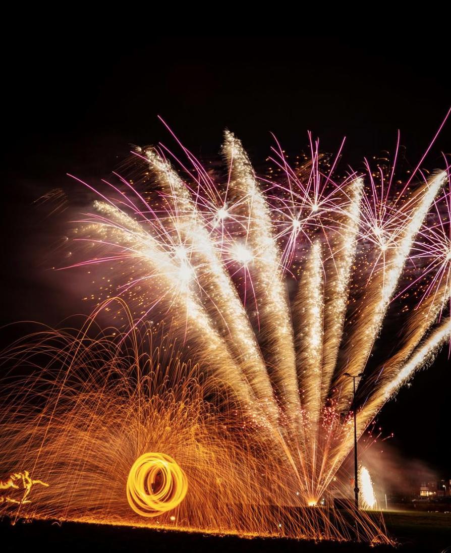 Fireworks - Gateshead