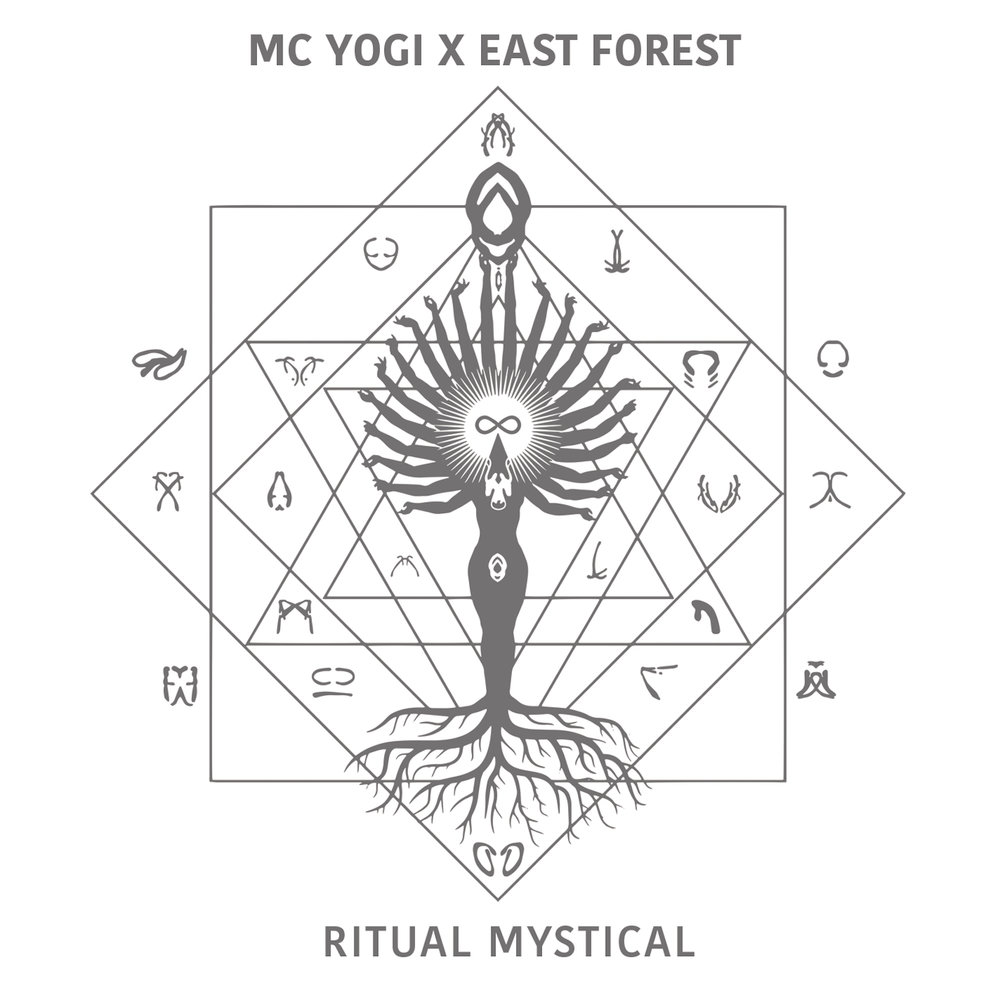 Ritual Mystical, the latest album from MC YOGI [feat. East Forest]. Thanks to YOU : #1 iTunes Electronic | #2 Billboard New Age | #8 Billboard Dance/Electronic.