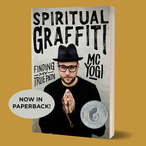 Behind The Music And Off The Mat Mc Yogis Story Of Grit And Graffiti Reminds Us That Yoga Meets Us Where We Are And Introduces Us To Who We Are Jason
