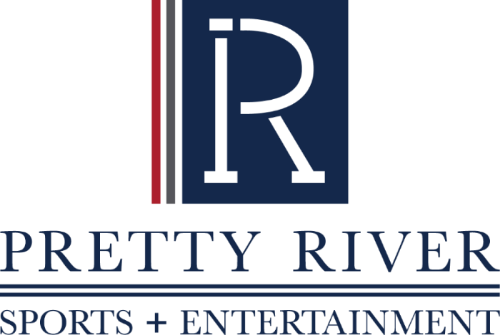 Pretty River Sports + Entertainment Logo