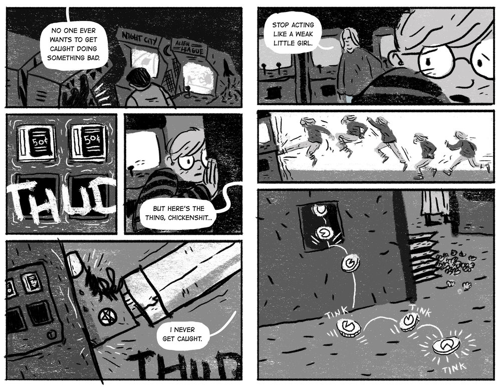 Horror Tapes - Pages 2-3