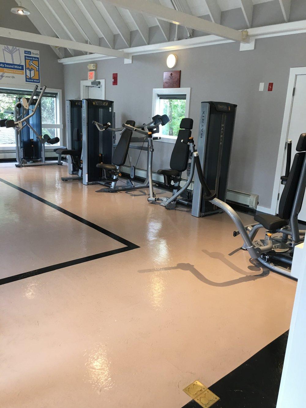 Riverview Fitness Center. Photo by Ilene B. Miller