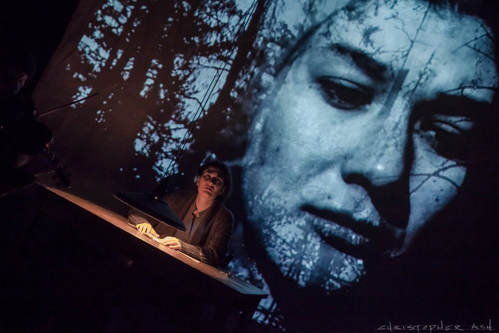 KAFKA-FRAGMENTS - Spring Festival 2015March 18–22, 2015@ Sheen Center BlackboxMusic by György KurtágText by Franz KafkaDirected by Ethan Heard