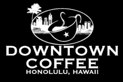 Downtown Coffee Honolulu.  Good Coffee 100% Hawaii-grown ❤️