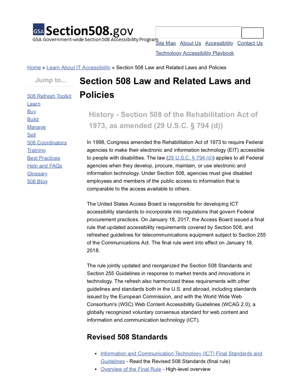 Section 508 Law and Related Laws and Policies | Section508.gov.png