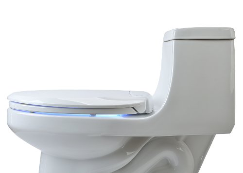 heated toilet seat with night light