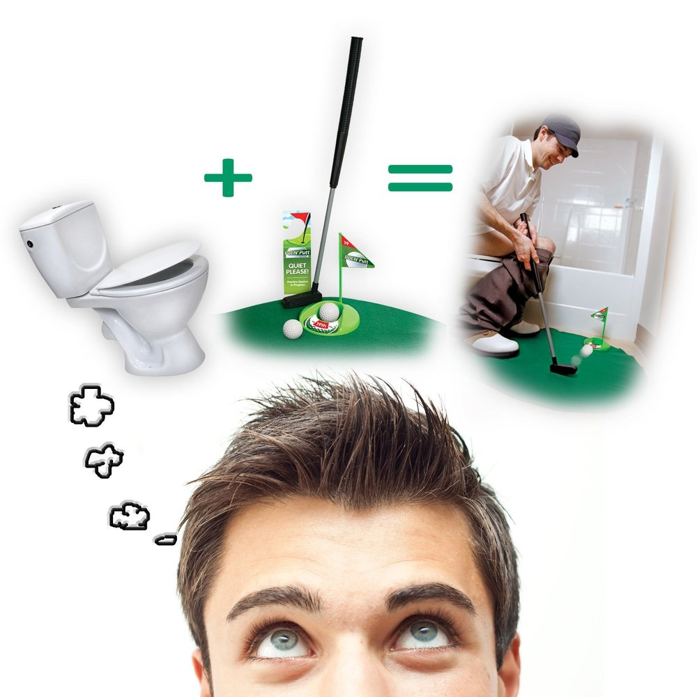 Golf Potty Putting Game