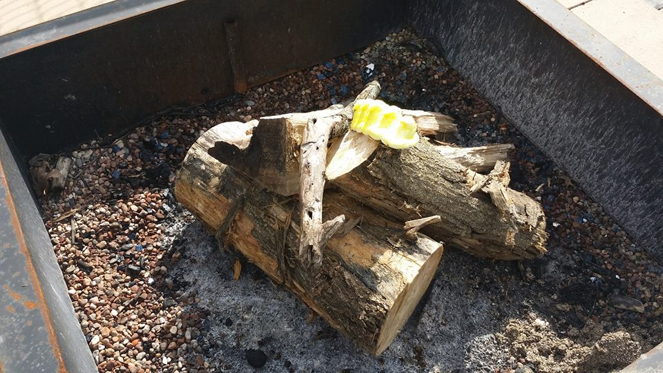peeps in firepit