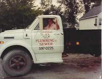 Grandpa Jack Szabo's Plumbing Truck. Circa 1970's