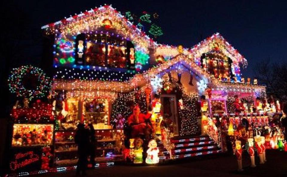 best decorated christmas house contest kevin szabo jr plumbing plumbing servicestinley park il - Christmas House Decorations