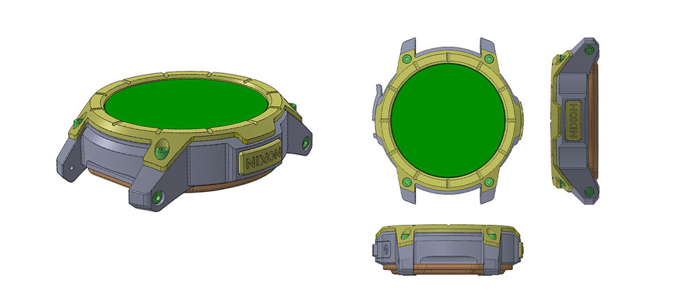 Solidworks screengrabs of one of the later stage models.