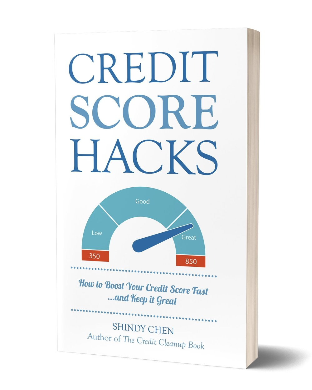 NEW! Credit Score Hacks, out now