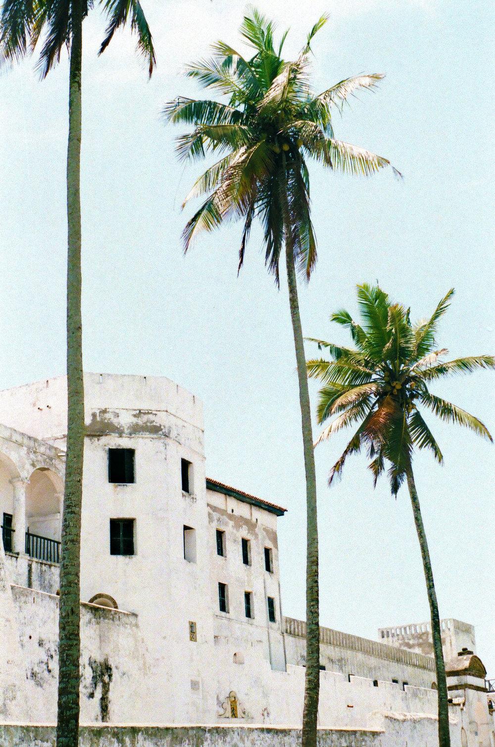 View of Elmina Castle