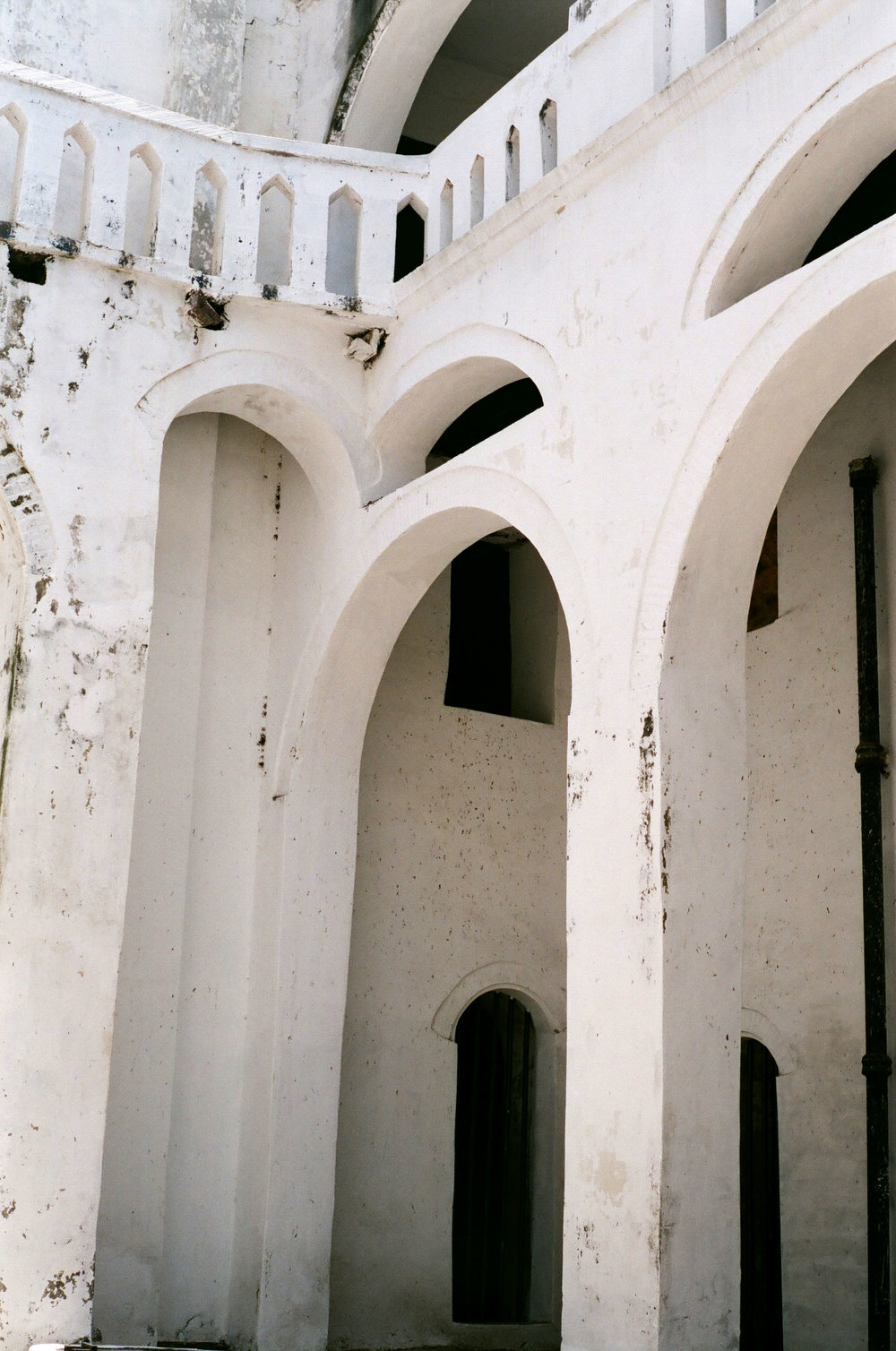 Arches in Elmina Castle