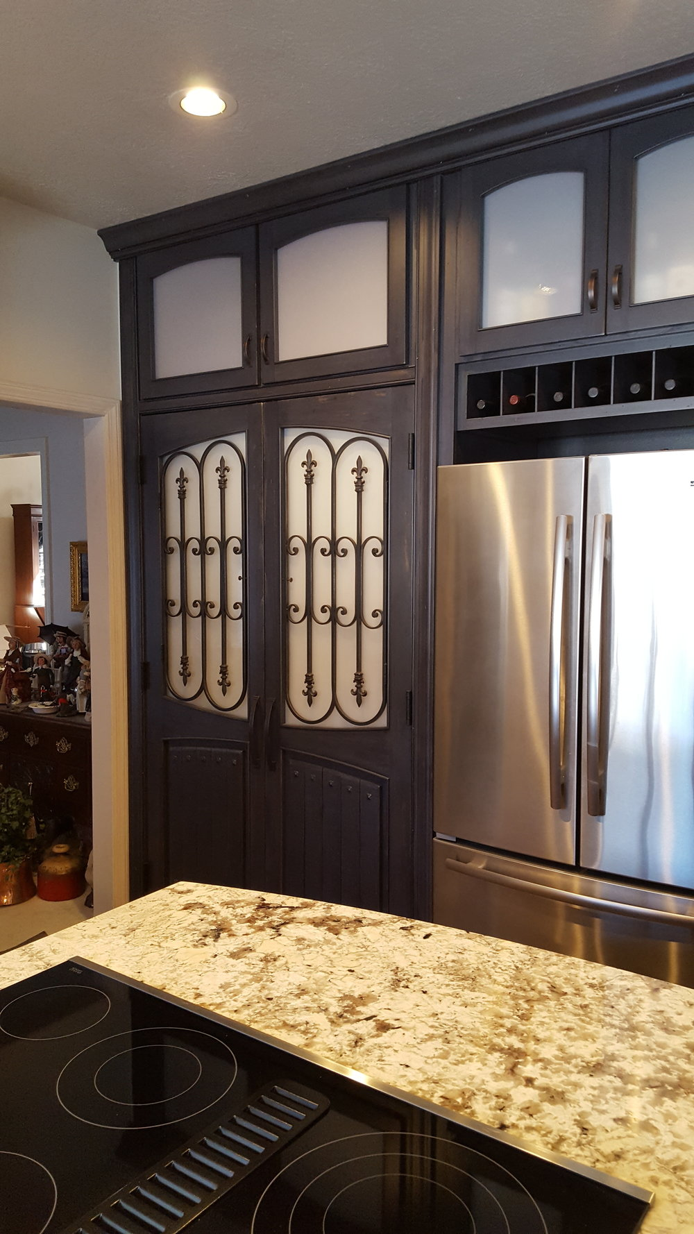 custom made pantry doors