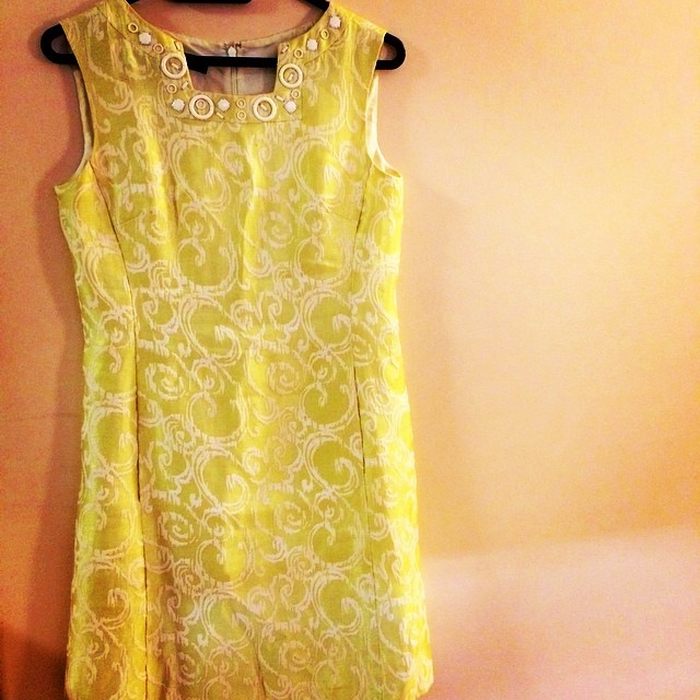 this Nine West brocade dress is #fancy. #FSclosetcleanse #frockswapca frockswap.ca