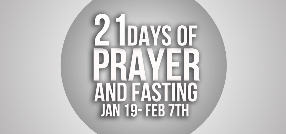Click Here for all the 21 Days of Prayer Resources for you and your family.