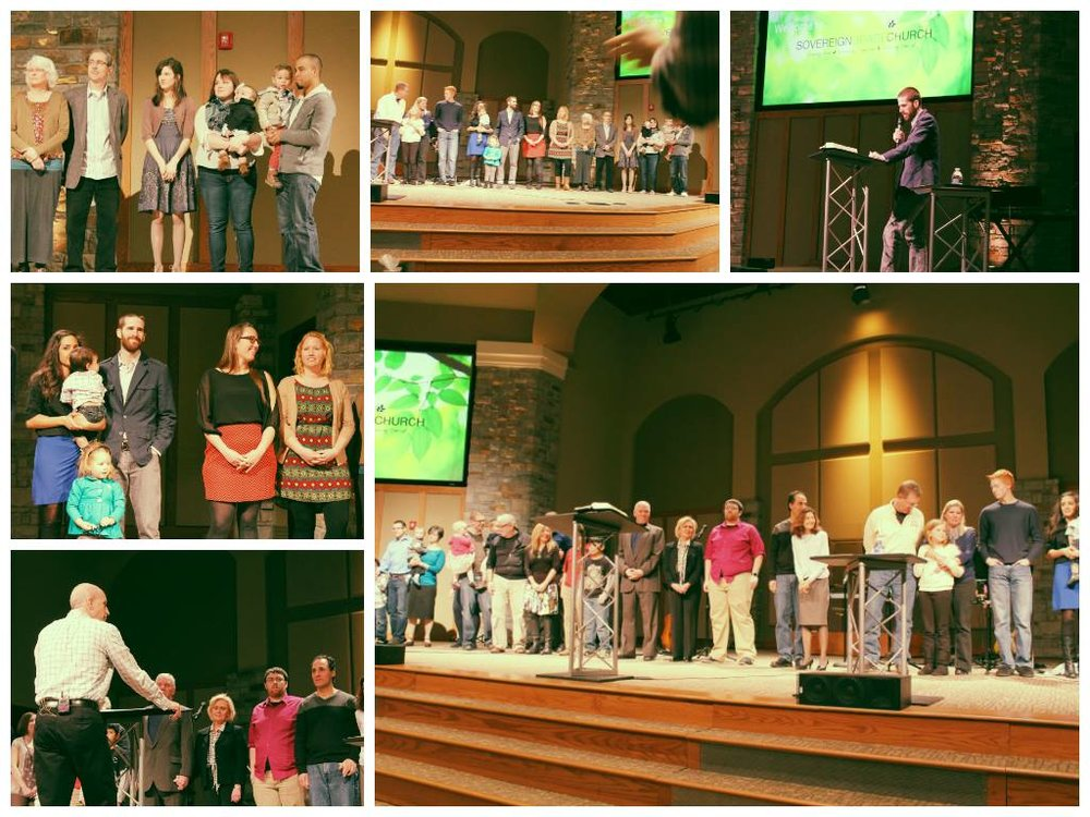 Send off Sunday at Sovereign grace marlton march 2, 2014