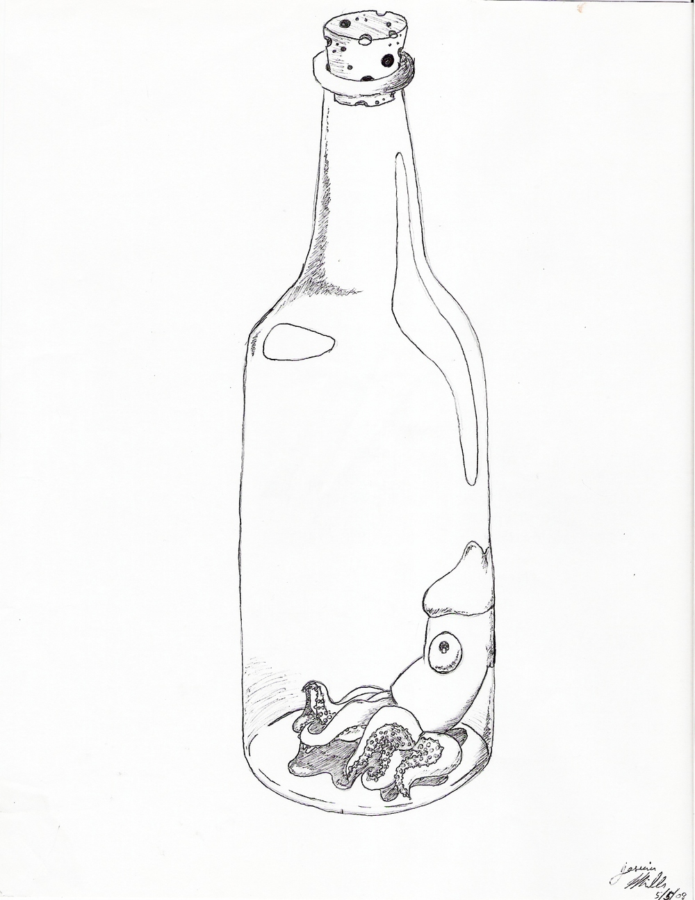 """Squid in a Bottle"""