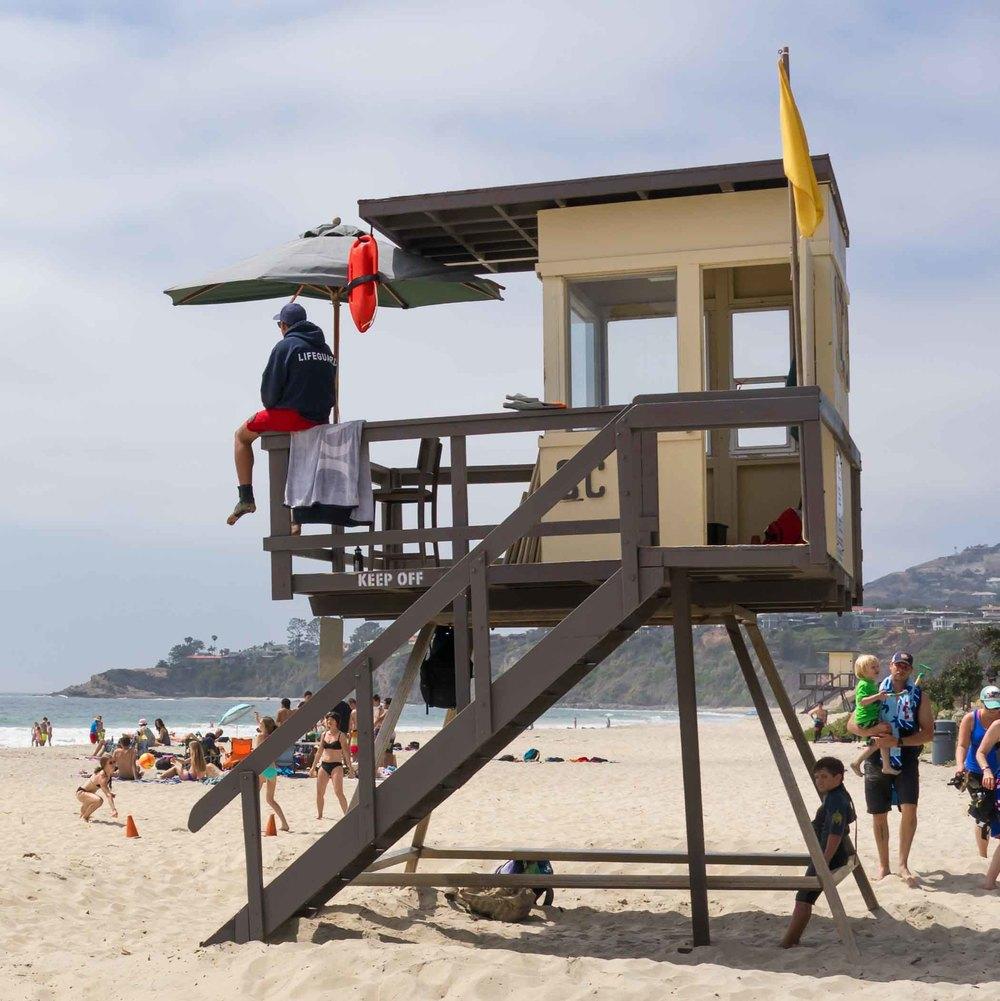 On Guard - Salt Creek Beach, CA