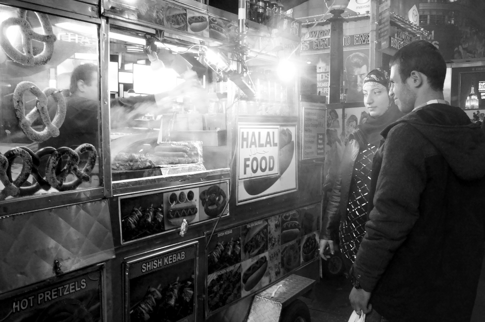 Street Vendor - Times Square, NYC