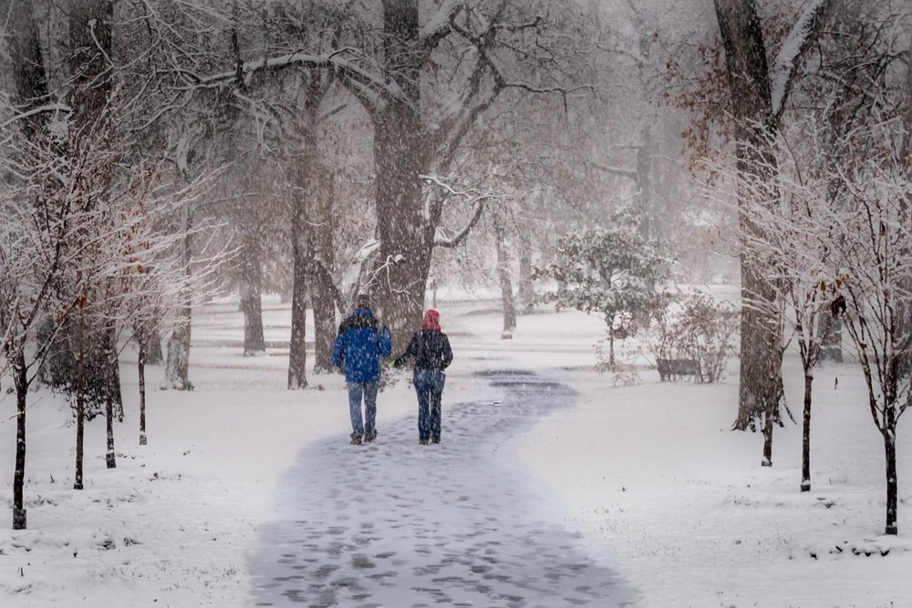 Walkin' in a Winter.... - St. Louis, MO