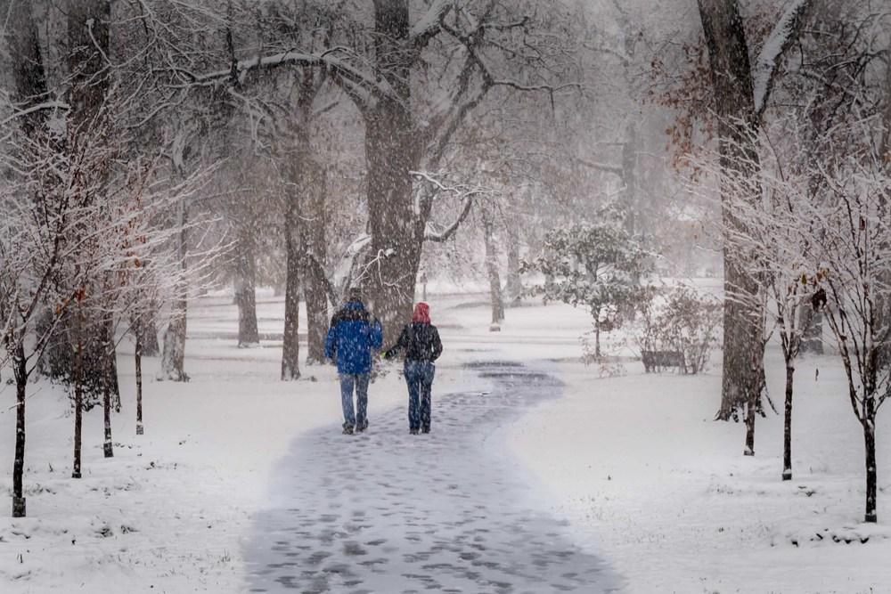 Walkin' in a Winter.... - St. Louis, MO