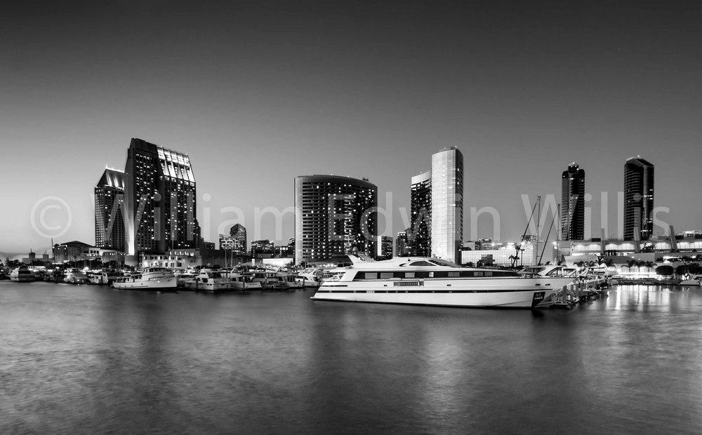Downtown San Diego - B+W