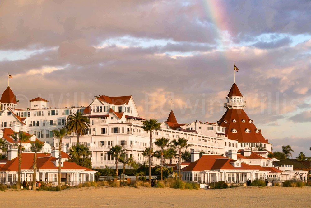 Somewhere Under the Rainbow - Hotel Del