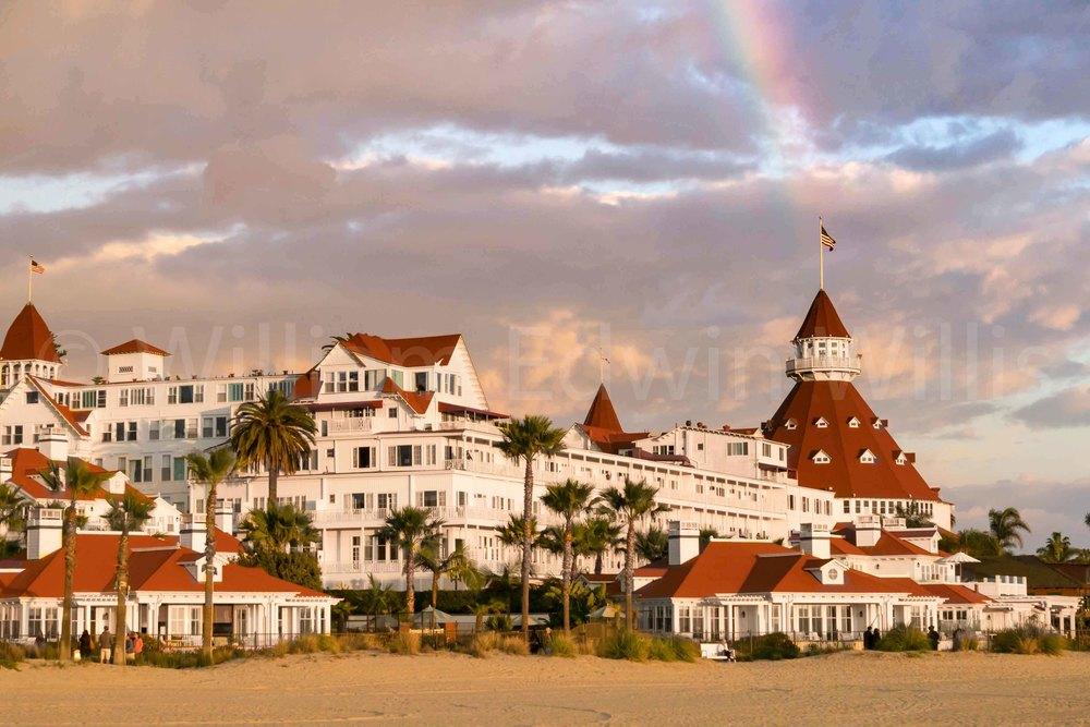 Somewhere Under the Rainbow - Hotel Del