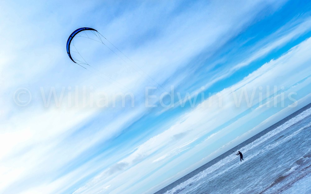 Blue - Silver Strand, San Diego, CA