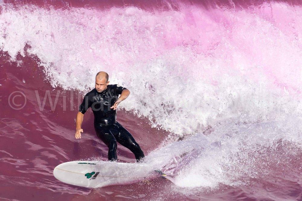 Pink Dye Surf