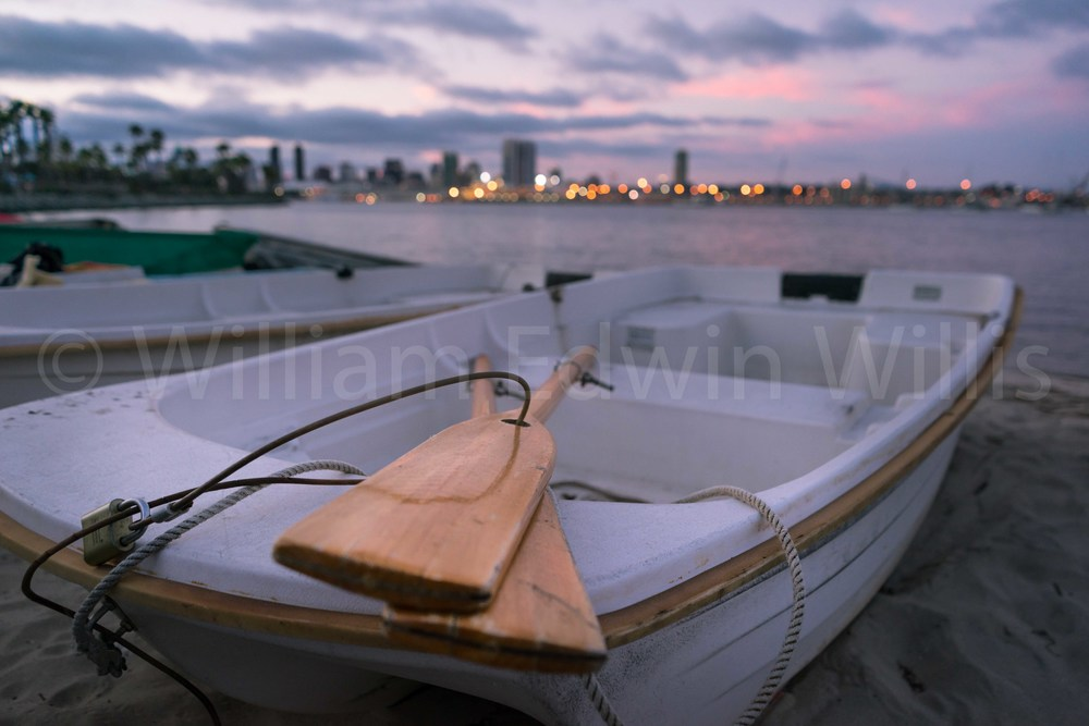 The Dinghy and the Skyline