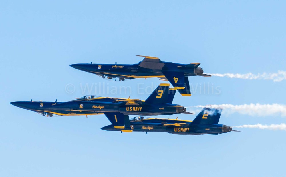 1, 2, 3, 4 - Blue Angels