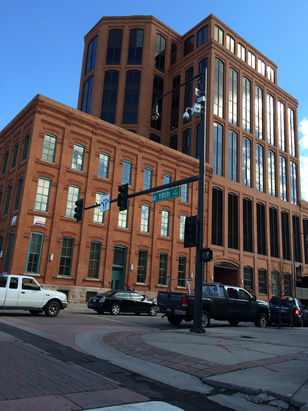 LoDo makes use of the newly finished brick facades. Omaha has a very similar style.