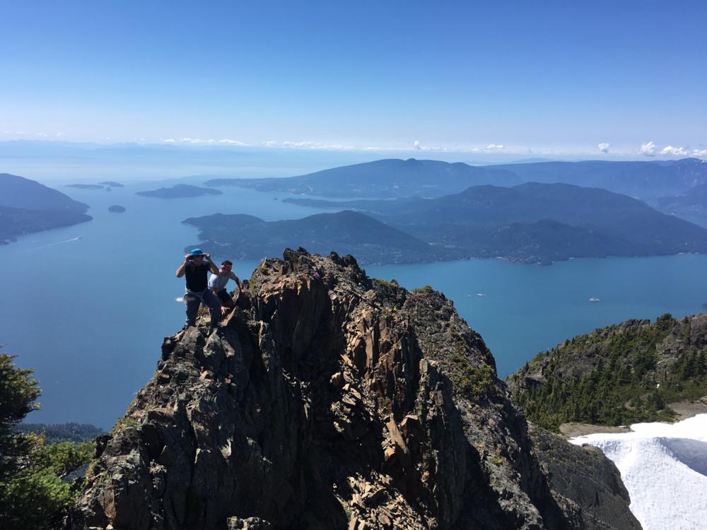 Peak of Mt. Brunswick