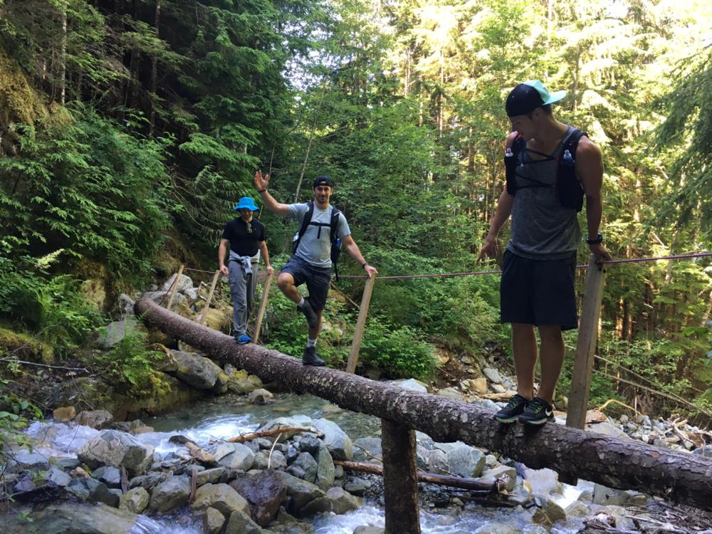 Hiking squad up to Mt. Brunswick