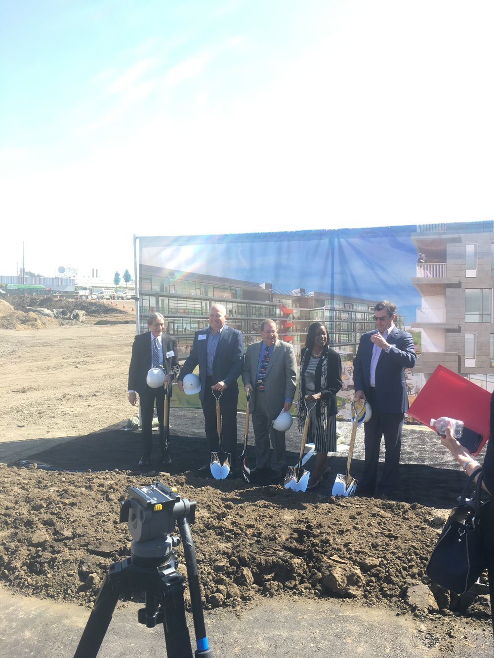 Ground Breaking of Ivy Station, Culver City's long awaited Transit Oriented Development -