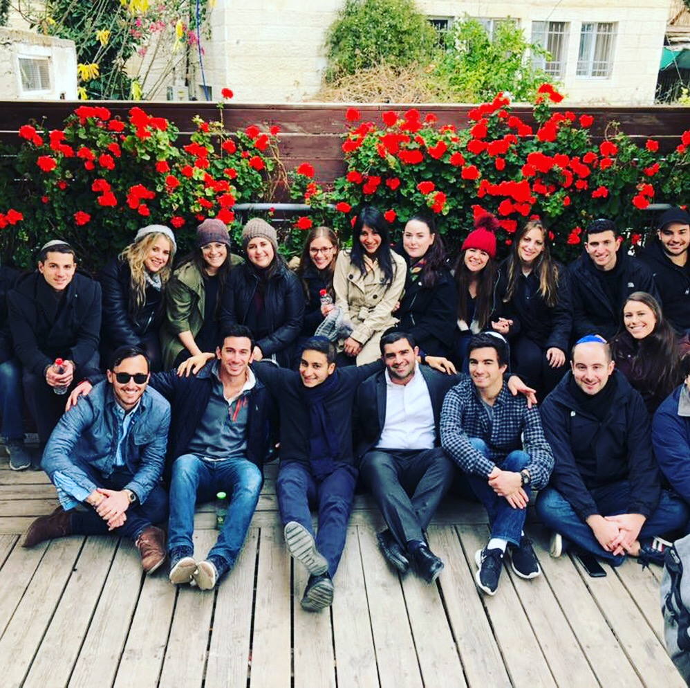 The Group from New York in Jerusalem