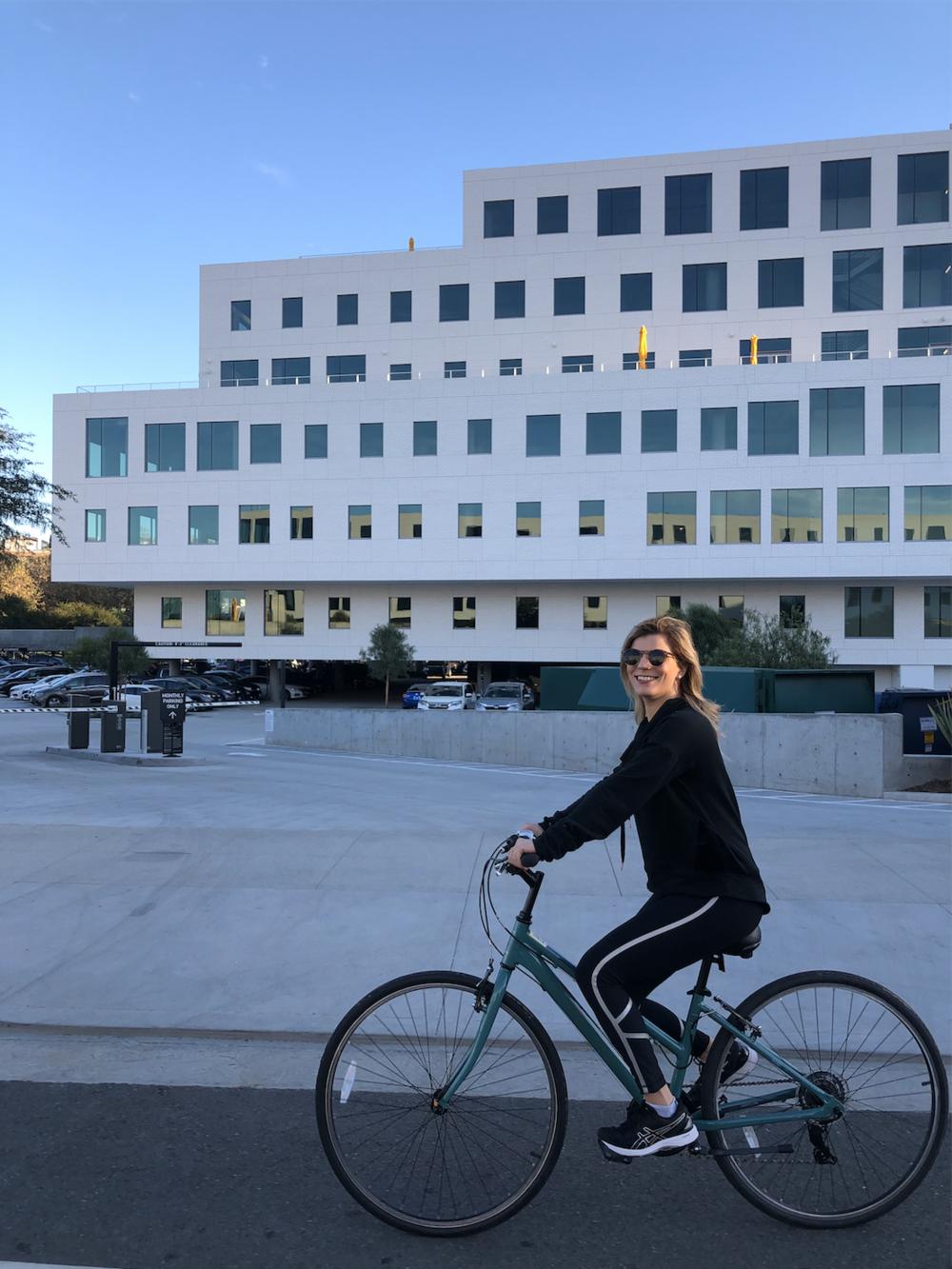 Biking Around Playa Vista