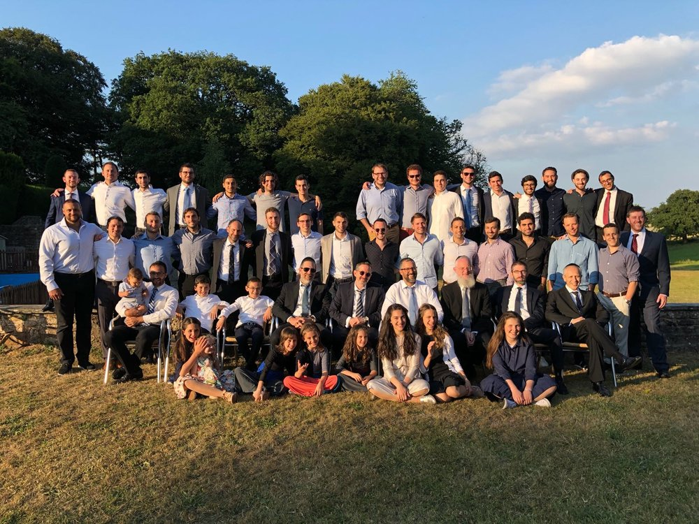 Country side of England - Torah Learning Trip