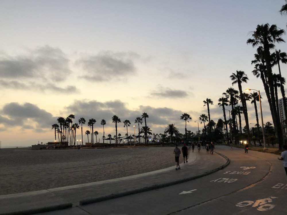 Sunsets in Venice