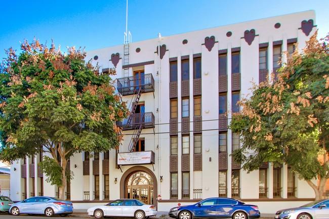 Echo Park Art Deco Apartment Building