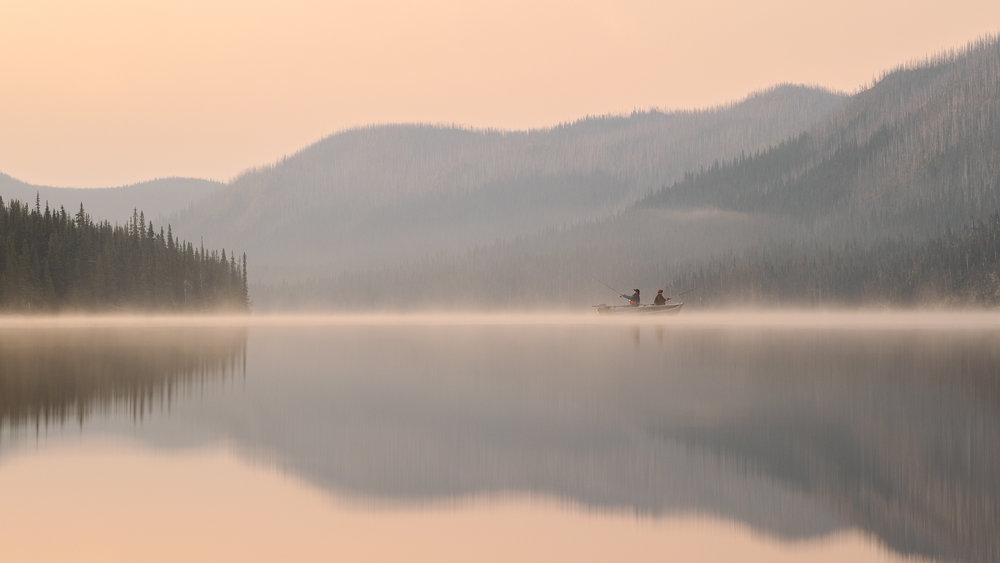 Sunrise Northern BC Fishing - Taylor Burk