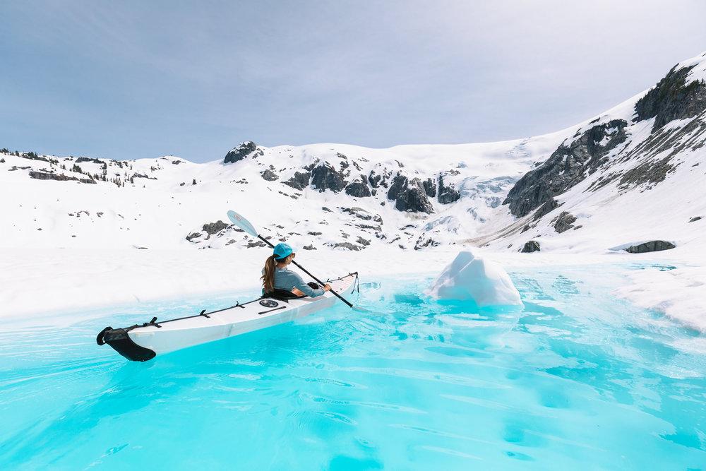 Glacier Kayaking Taylor Burk